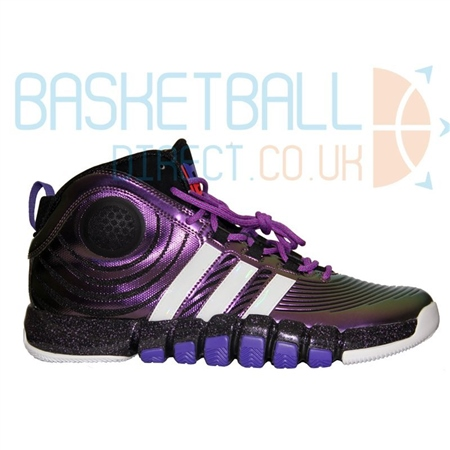 new products 1fbd8 90e98 Adidas Dwight Howard 4 shoes - Purple
